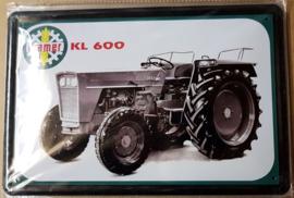 Metaalplaat Kramer KL 600