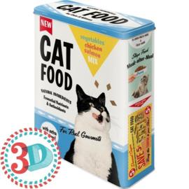 """Voorraaddoos """"Cat food"""""""