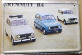 Metaalplaat Renault R4