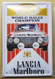 Metaalplaat Lancia Marlboro