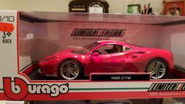 Schaalmodel Ferrari 488 GTB  1/18