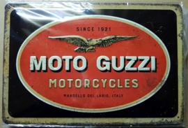 Metaalplaat Moto Guzzi