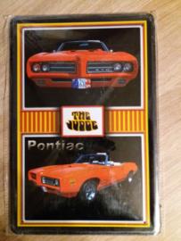 Metaalplaat Pontiac