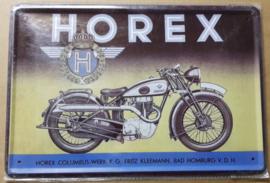 Metaalplaat Horex