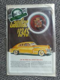 Metalen postkaart Cadillac
