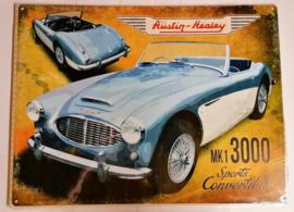 Metaalplaat Austin Healy 3000 MK1 Sports Convertible