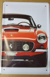 Metaalplaat Ferrari