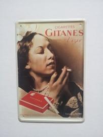 Metaalplaat Gitanes