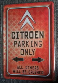 Citroën Parking Only