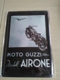 Metaalplaat Guzzi 250 CC Airone