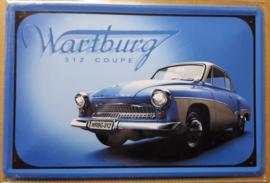 Metaalplaat Wartburg 312 Coupé
