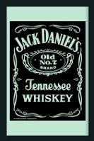 Spiegel Jack Daniël's