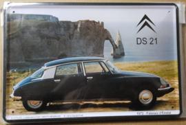 Metaalplaat Citroën DS 21