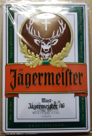 Metaalplaat Jägermeister