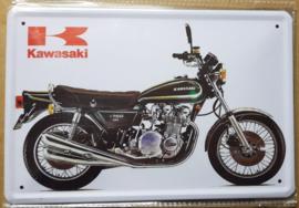 Metaalplaat Kawasaki