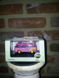 Schaalmodel Volkswagen Bus Peace  1/76