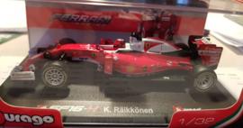 Schaalmodel Ferrari SF-16 K Räikkönen  1/32