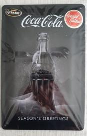 Metaalplaat Coca Cola 20x30cm in reliëf Special edition