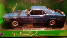 schaalmodel 1970 Ford Mustang Boss 302  1/18