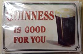 Metaalplaat Guinness