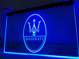 3D ledverlichting Maserati