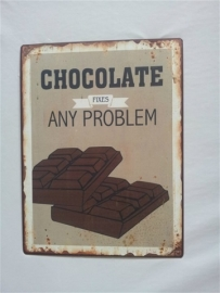 Chocolate fixes any problem