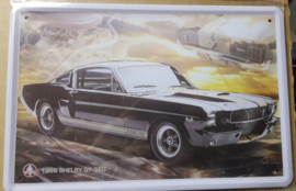 Metaalplaat Ford Shelby GT 350 1966