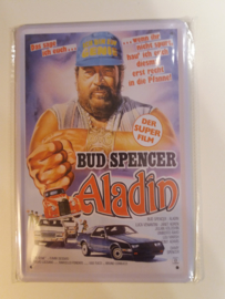 Metaalplaat Bud Spencer