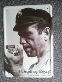 Metaalplaat Humphrey Bogart