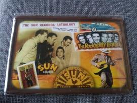 Metaalplaat  Sun Records
