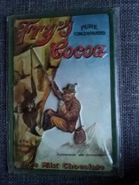 Metaalplaat Fry's Cocoa
