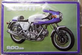 Metaalplaat Ducati 900SS