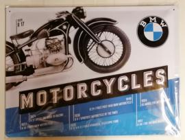 Metaalplaat BMW