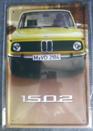 Metaalplaat BMW 1502