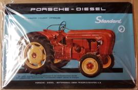 Metaalplaat Porsche Diesel Standard