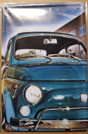 Metaalplaat Fiat