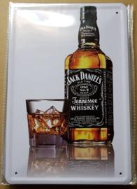 Metaalplaat Jack Daniël's