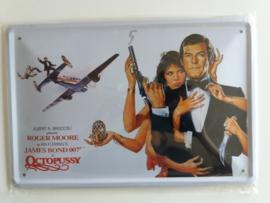 Metaalplaat James Bond: Octopussy
