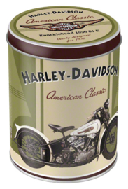 Voorraaddoos Harley Davidson