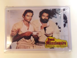Metaalplaat Bud Spencer en Terence Hill