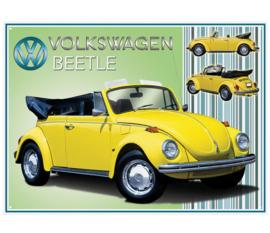 Metaalplaat Volkswagen Beetle