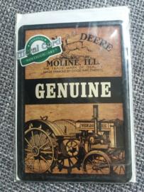 Metalen Postkaart John Deere