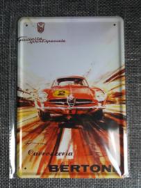 Metaalplaat Alfa Romeo Giulietta Sprint Speciale