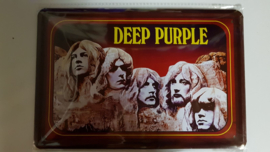 Metaalplaat Deep Purple