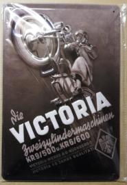 Metaalplaat Victoria