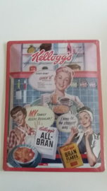 Metaalplaat Kellogg's