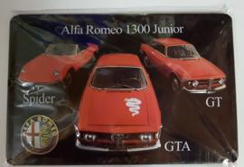 Metaalplaat Alfa Romeo