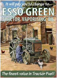 Esso Green Tractor Oil