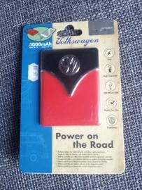 Batterij Volkswagen rood/zwart