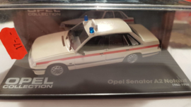 Schaalmodel Opel Senator A2 Notarzt  1982 - 1986  1/43